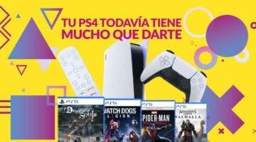 Imagen de Convierte tu PS4 en juegos y accesorios para PS5; descubre la increíble promoción de GAME