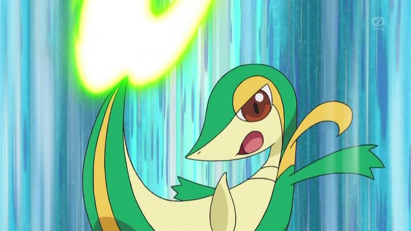 Snivy Hoja Aguda Pokemon