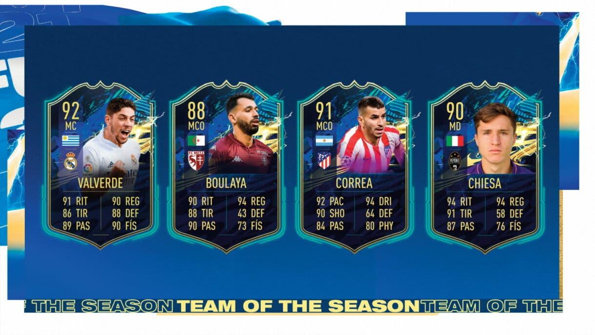 FIFA 21 Ultimate Team TOTS centrocampistas más interesantes candidatos al Equipo de la Comunidad 1