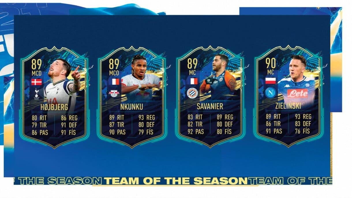 FIFA 21 Ultimate Team TOTS centrocampistas más interesantes candidatos al Equipo de la Comunidad 2