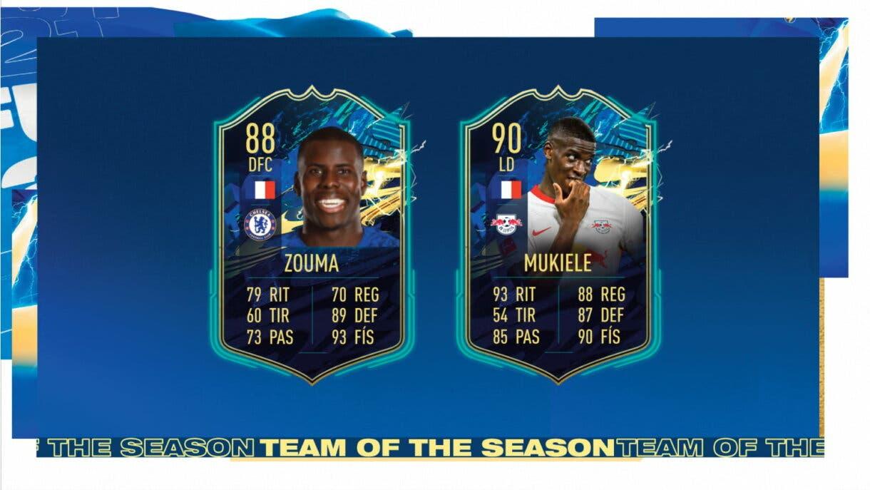 FIFA 21 Ultimate Team TOTS Equipo de la Comunidad los defensores más interesantes predicción medias y stats 3