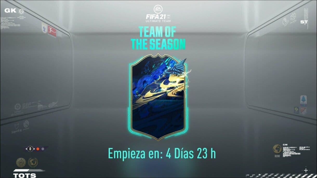 FIFA 21 Ultimate Team pantalla de carga TOTS ligas y equipos confirmados