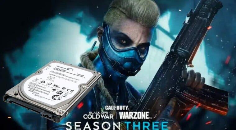 Imagen de ¿Cuánto ocuparán las actualizaciones de Warzone y Black Ops Cold War de la temporada 3?