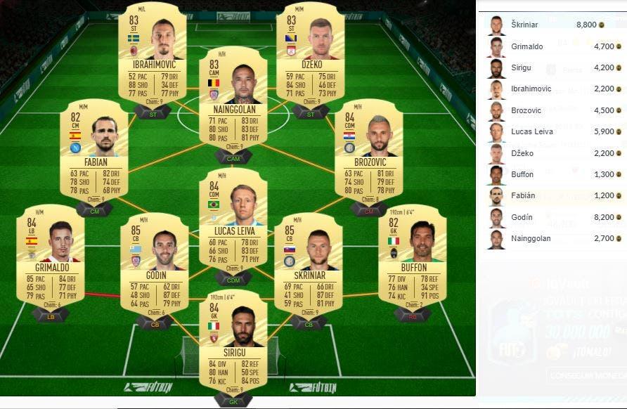 FIFA 21 Ultimate Team SBC Petros TOTS