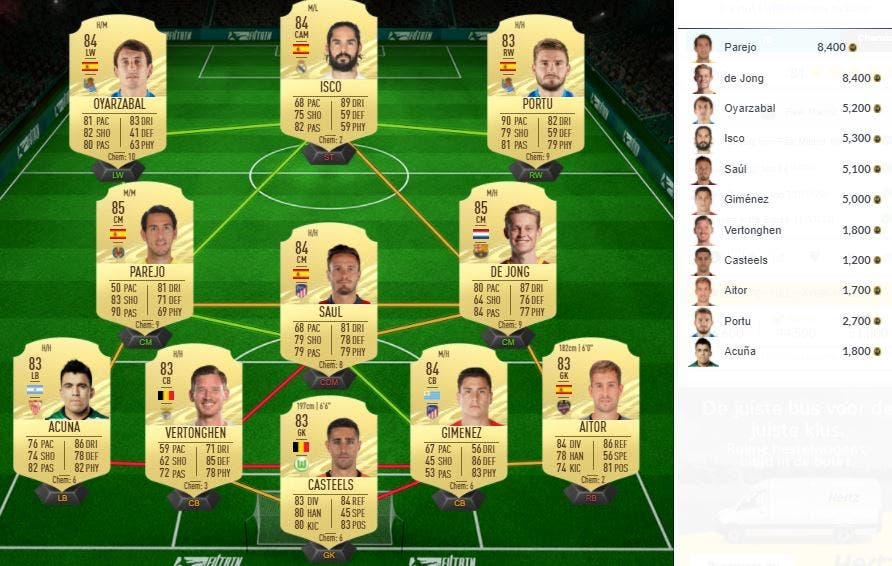 FIFA 21 Ultimate Team SBC Mariano Showdown