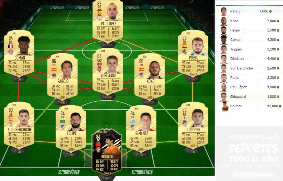 FIFA 21 Ultimate Team SBC Coutinho Flashback