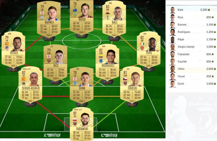 FIFA 21 Ultimate Team SBC Trippier TOTS