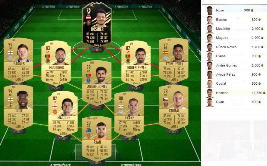 FIFA 21 Ultimate Team SBC Caulker TOTS