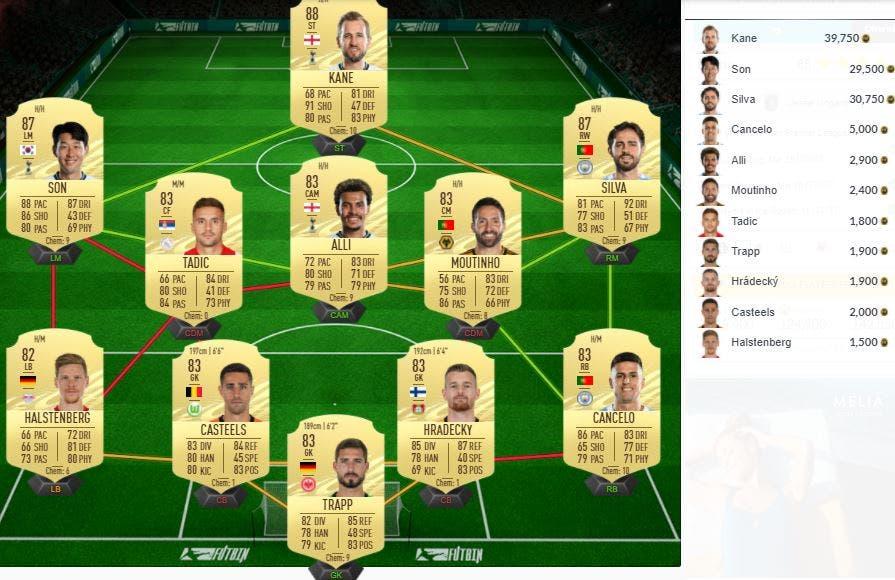 FIFA 21 Ultimate Team SBC Lingard POTM