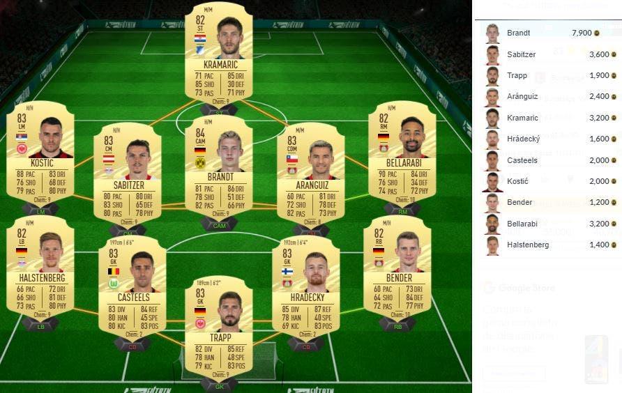 FIFA 21 Ultimate Team SBC Kruse TOTS Moments