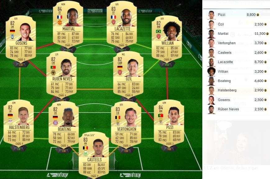 FIFA 21 Ultimate Team SBC Mbabu Flashback