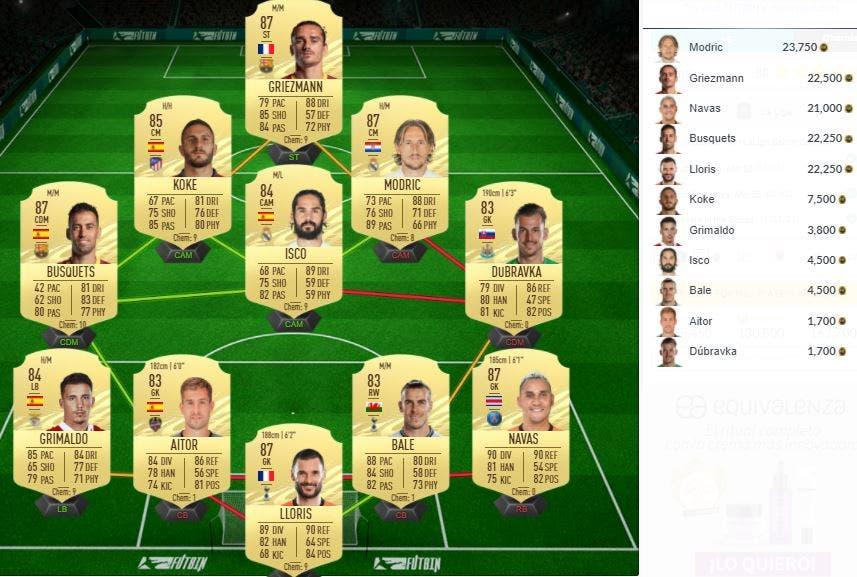 FIFA 21 Ultimate Team SBC Rodrygo Showdown