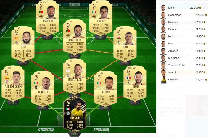 FIFA 21 Ultimate Team SBC Marcelo Flahback