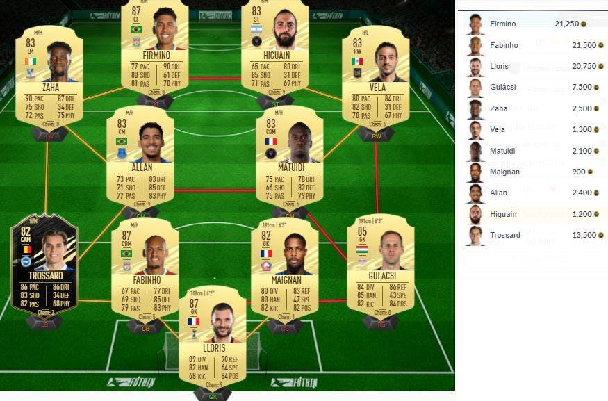 FIFA 21 Ultimate Team SBC Marcos Alonso Showdown