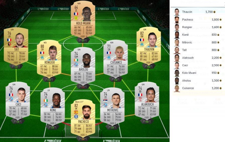 FIFA 21 Ultimate Team SBC TOTS LaLiga