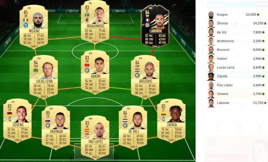 FIFA 21 Ultimate Team SBC Douglas Costas Flashback