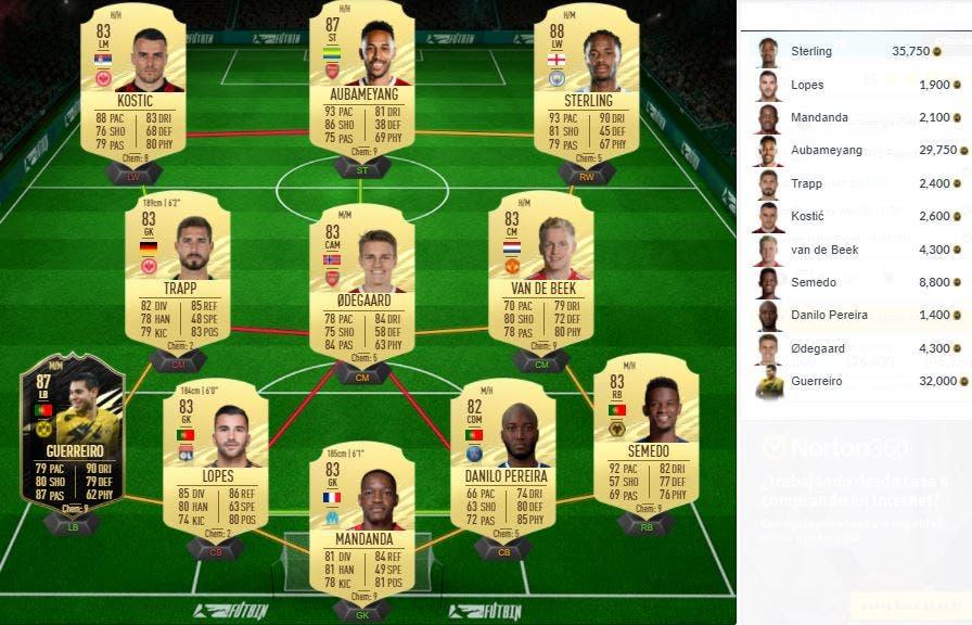 FIFA 21 Ultimate Team SBC TOTS Bundesliga