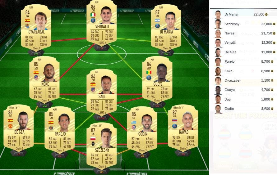 FIFA 21 Ultimate Team SBC Haaland POTM Bundesliga Abril