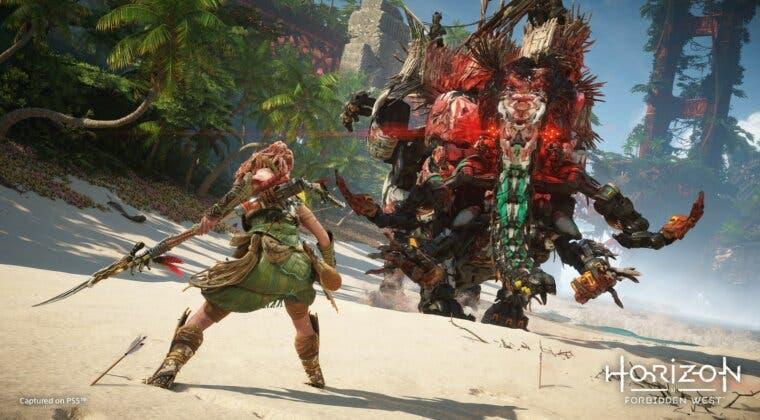 Imagen de Horizon Forbidden West en PS4 se ve mejor que Zero Dawn, pero en PS5 tiene más detalle y ray tracing