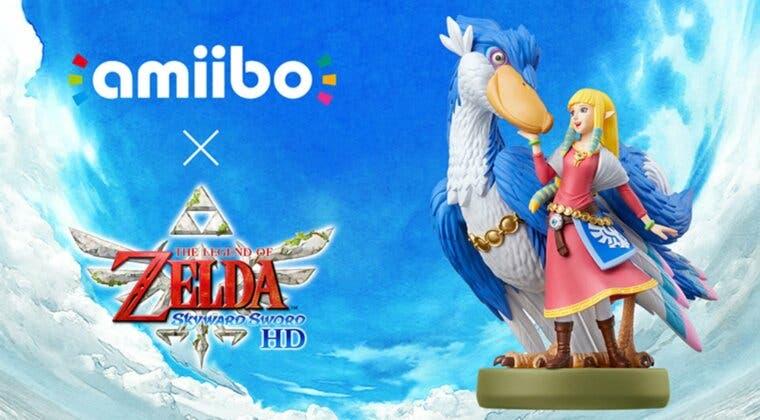 Imagen de Así es el nuevo amiibo de Zelda y su Pelícaro para The Legend of Zelda: Skyward Sword HD
