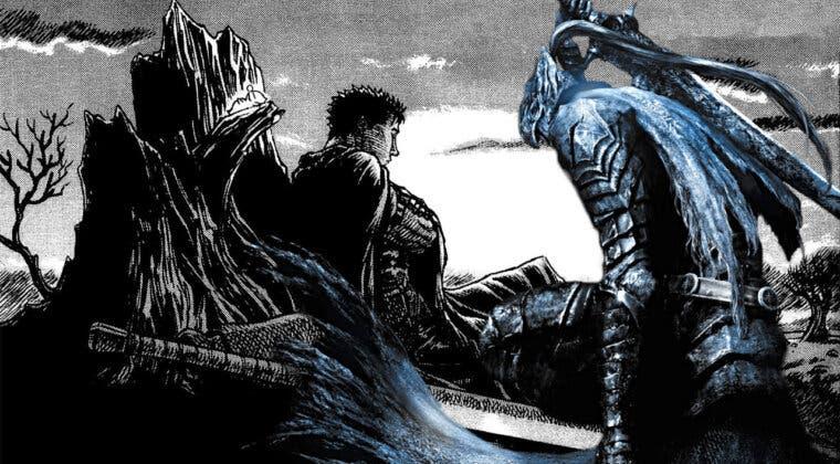 Imagen de El entrañable guiño de la comunidad de Dark Souls al autor de Berserk