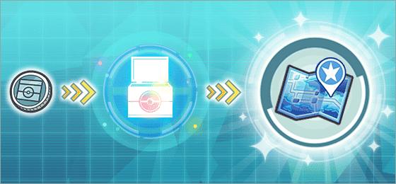 Caja Busqueda Pokemon Masters EX