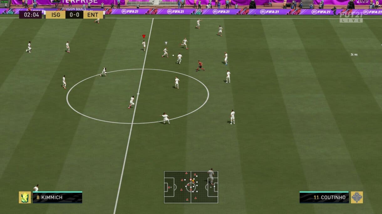 FIFA 21 Ultimate Team Bug Camisetas Blancas