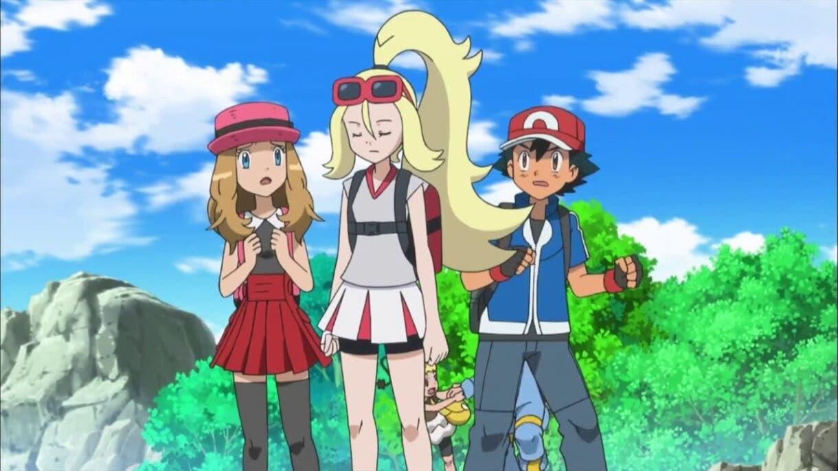 Corelia Serena Ash anime Pokemon