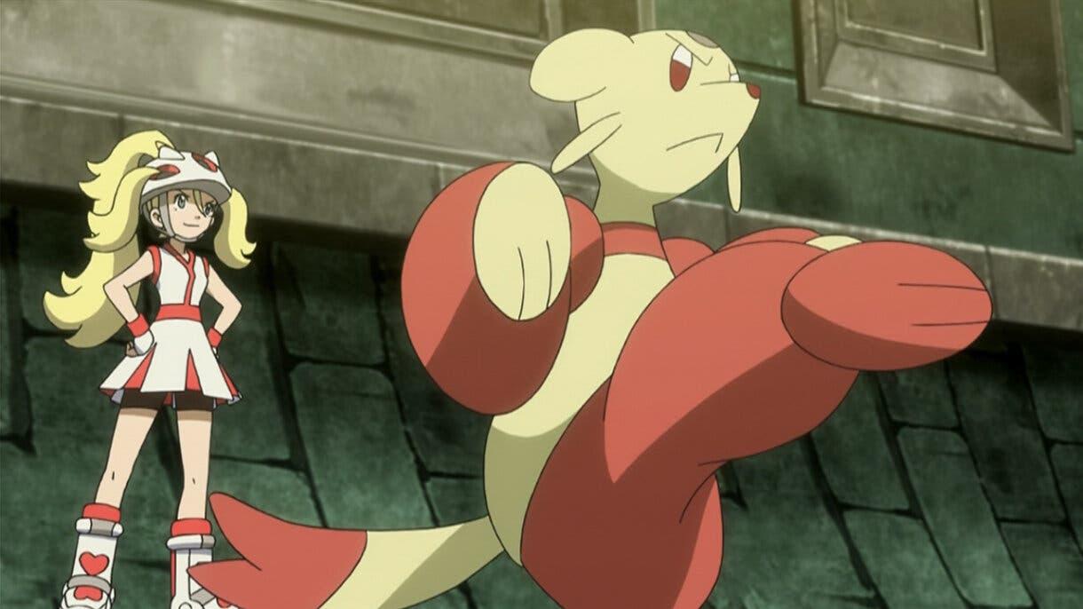 Corelia y Mienfoo Pokemon
