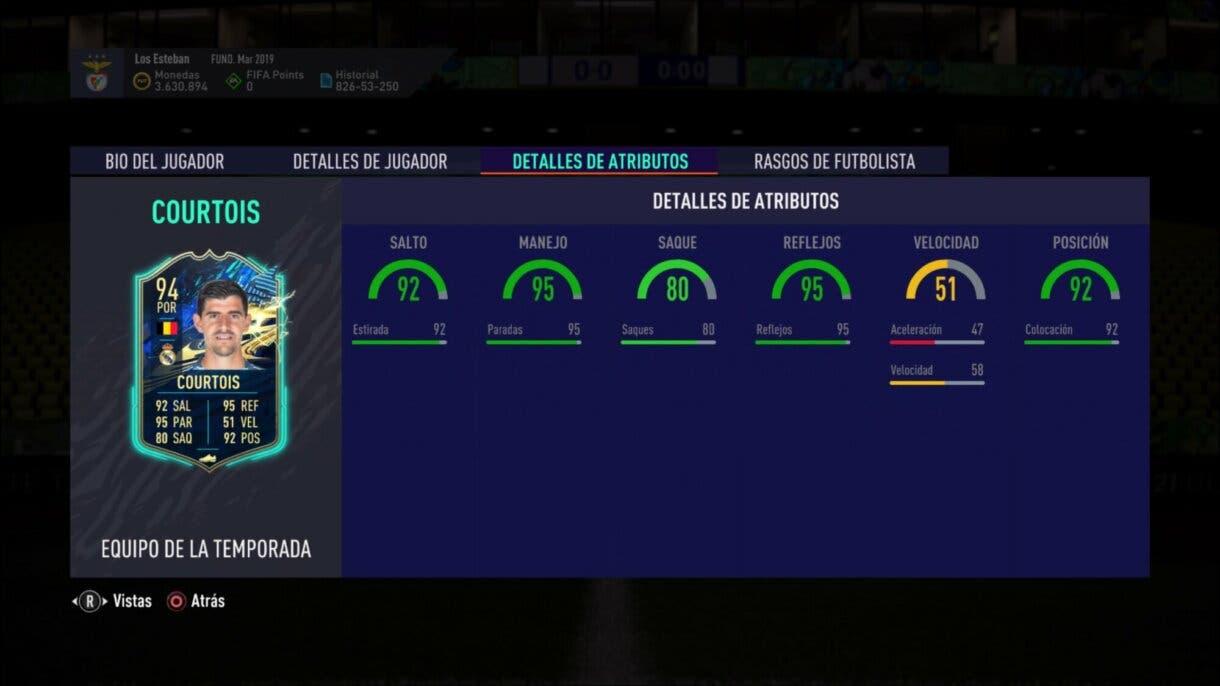 FIFA 21 Ultimate Team SBC Courtois TOTS