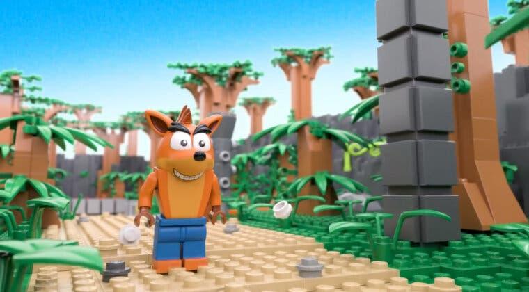 Imagen de Este es el espectacular LEGO de Crash Bandicoot que un fan ha recreado