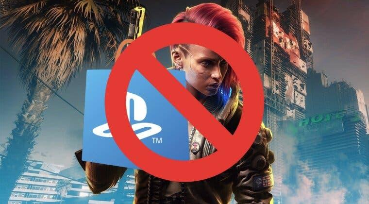 Imagen de Cyberpunk 2077 seguirá sin volver a PS Store... por ahora