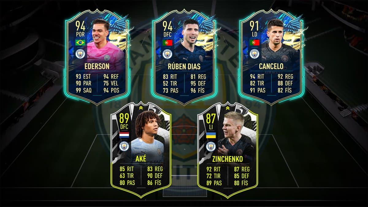 FIFA 21 Ultimate Team Plantilla Manchester City