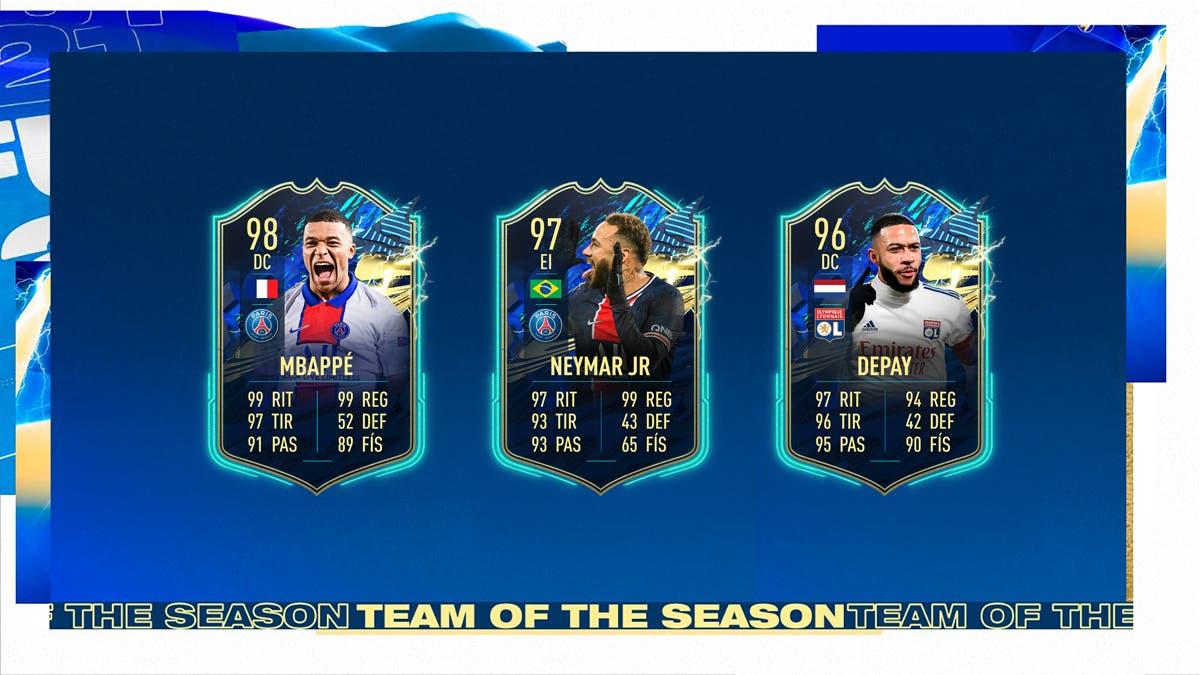 FIFA 21 Ultimate Team Jugadores que merecen TOTS Ligue 1