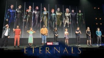 Imagen de Primeras y espectaculares imágenes de los Eternos, la película más ambiciosa de Marvel