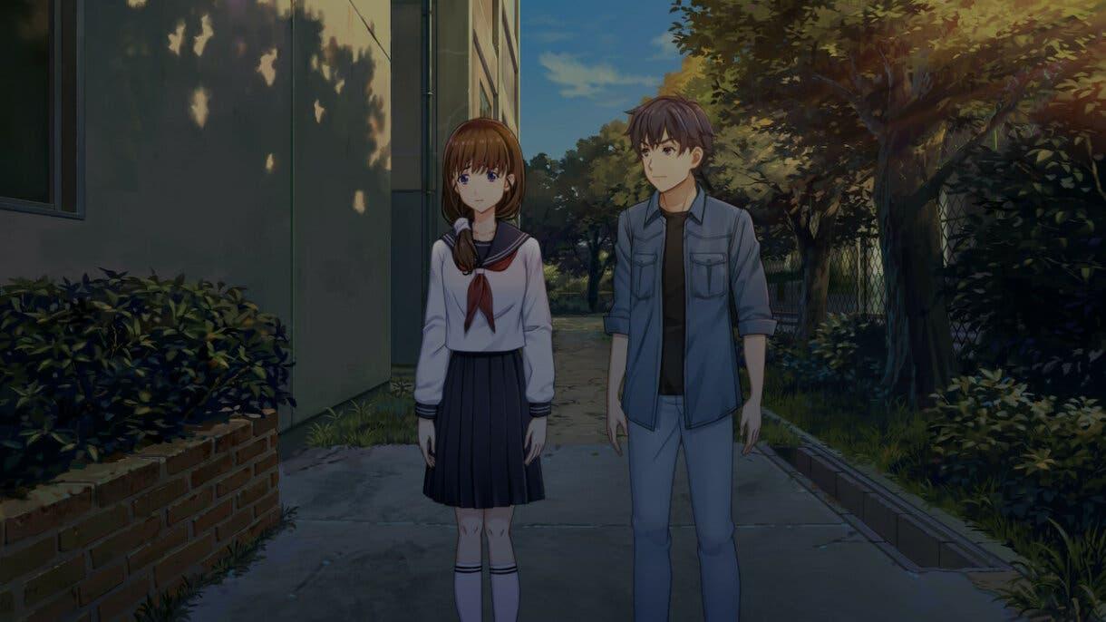 Famicom Detective Club Ayumi y protagonista