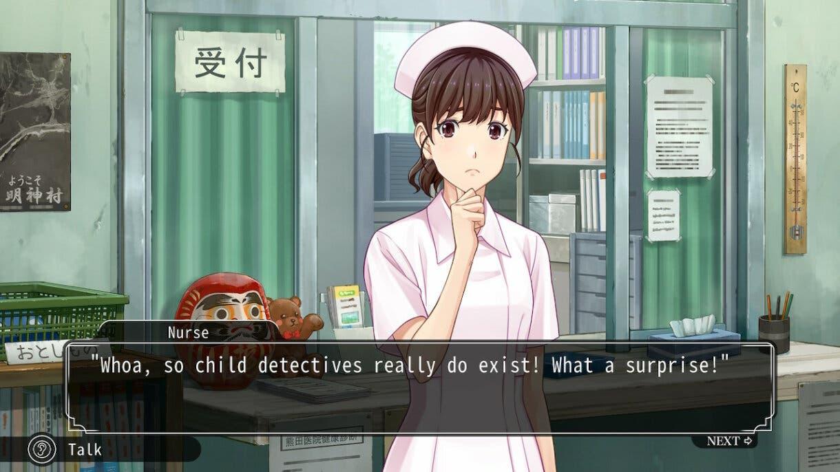 Famicom Detective Club enfermera