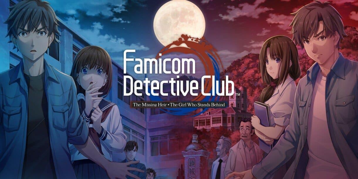 Famicom Detective Club- The Missing Heir & Famicom Detective Club- The Girl Who Stands Behind