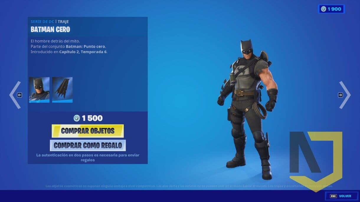 fortnite batman skin 1
