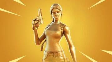 Imagen de Fortnite: cómo conseguir gratis la nueva skin de oro de Lara Croft en la Temporada 6