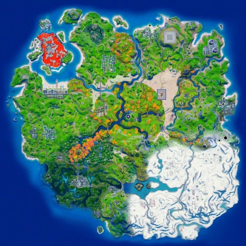 fortnite mapa fan