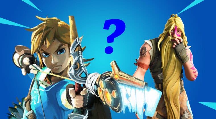 Imagen de Un fan fusiona Fortnite y The Legend of Zelda: Breath of the Wild con una estampa espectacular