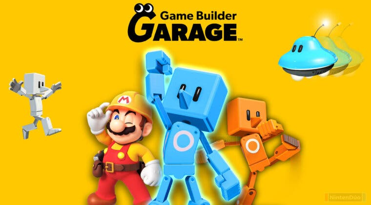 Imagen de Nintendo anuncia Game Builder Garage, el homólogo de Dreams para Switch
