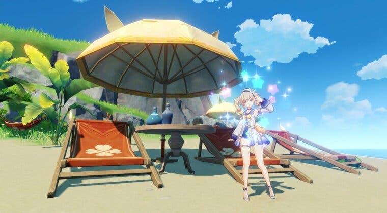 Imagen de Ya disponible '¡Verano, islas, aventuras!', la versión 1.6 de Genshin Impact