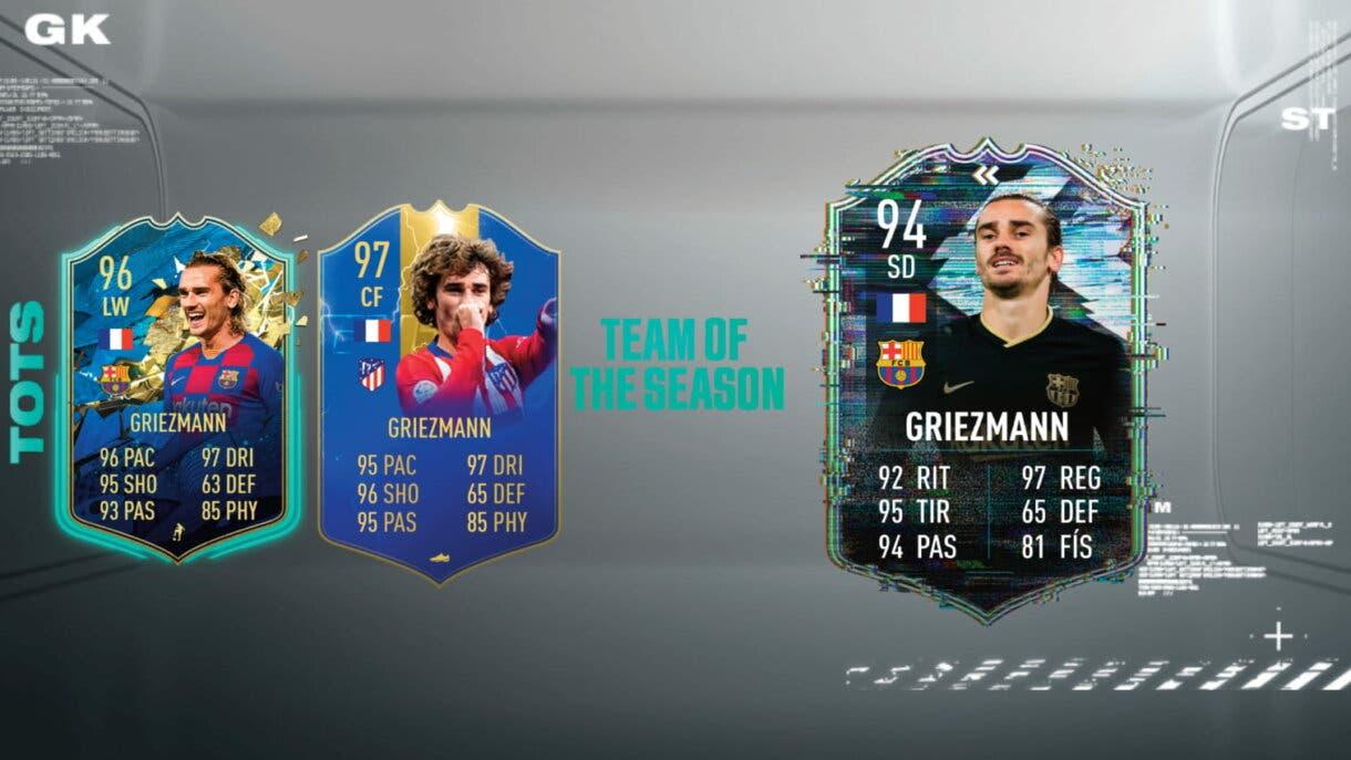 FIFA 21 Ultimate Team: ¿Qué TOTS Flashback de la Liga Santander podría aparecer? Griezmann