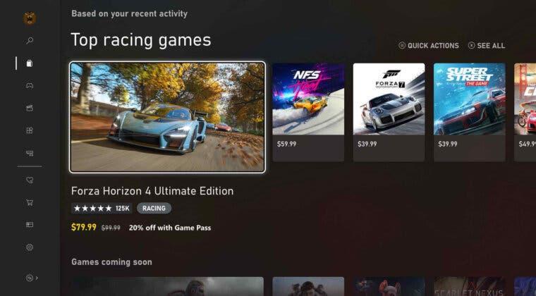 Imagen de Xbox habría planeado reducir el dinero percibido por cada venta digital de juegos