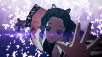 Imagen de Kimetsu no Yaiba – Hinokami Keppuutan muestra gameplay de Shinobu Kocho