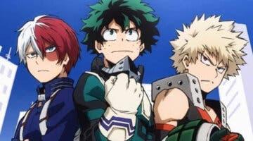 Imagen de My Hero Academia: World Heroes Mission revela los diseños de Deku, Bakugo y Todoroki