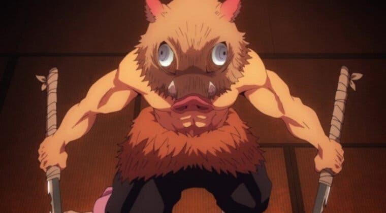 Imagen de Inosuke (Kimetsu no Yaiba) tiene un nuevo cosplay en mujer de lo más espectacular