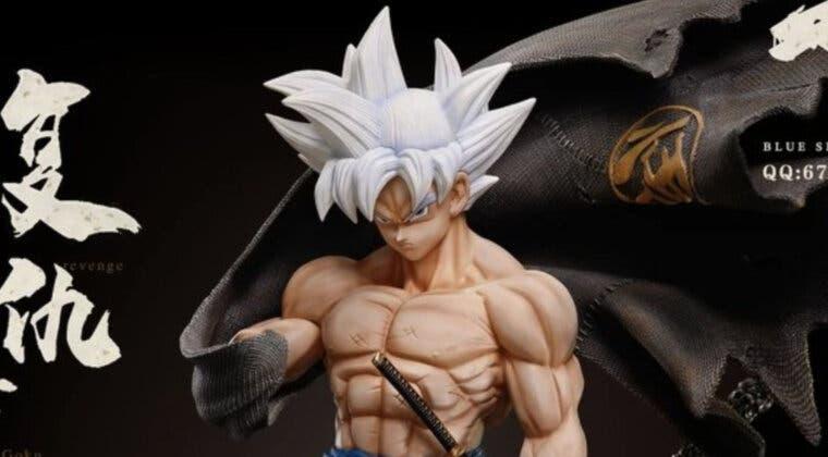 Imagen de La espectacular nueva figura de Goku 'Samurái' que enloquece a los fans de Dragon Ball